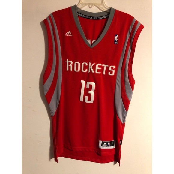 huge selection of 7a4a6 8dced James Harden Houston Rockets Authentic Jersey